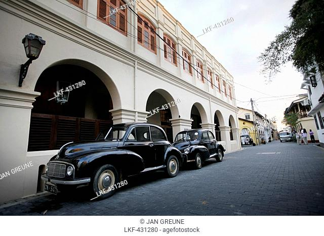 Historic district, Galle Fort, Galle, Southern Province, Sri Lanka