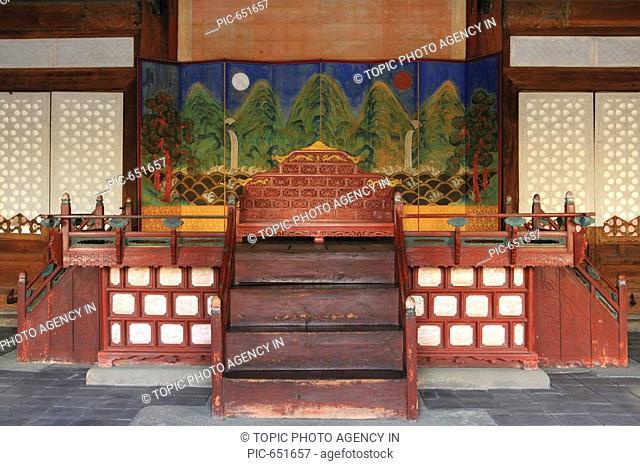 Myeongjeongjeon,Changgyeonggung Palace,Jongno-gu,Seoul,Korea
