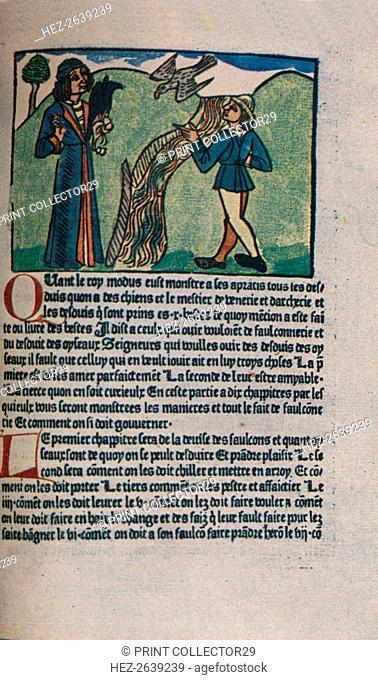 'Le Livre du Roy Modus', 1486 (1947). Artist: Unknown
