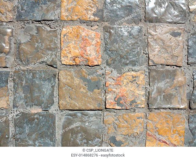 Ancient cobblestones