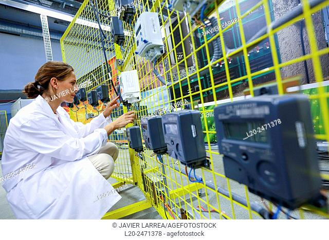 Researcher. Electrical Cabinet Performance Counters. Low Voltage Micro Network. Testing and Certificates Services for Smart Grids and Smart meters