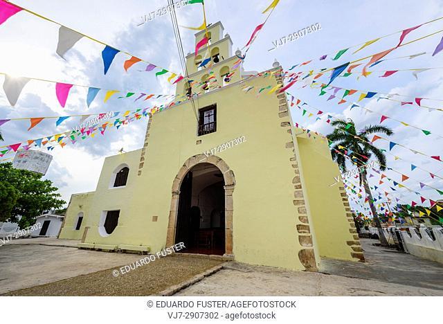Church of Chumayel, Yucatan (Mexico)