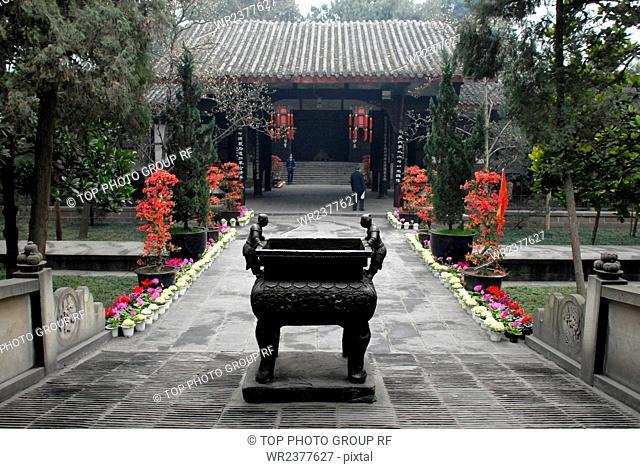 Sichuan Chengdu Wuhou Temple