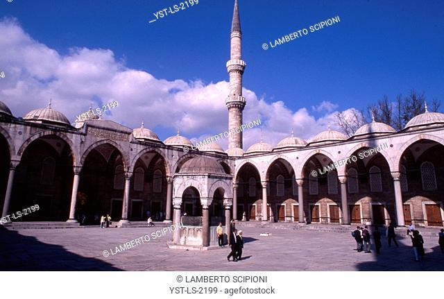 Suleymaniye Mosque, Istanbul, Turkey, Asia