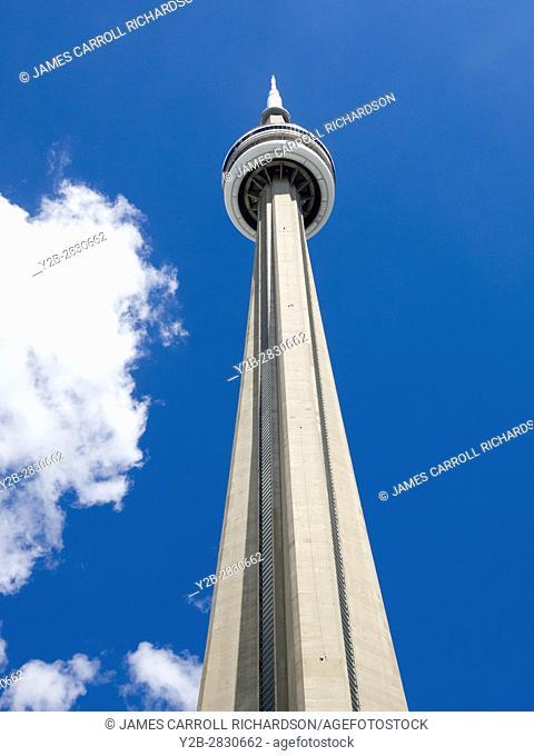 CN Tower in Toronto Ontario Canada