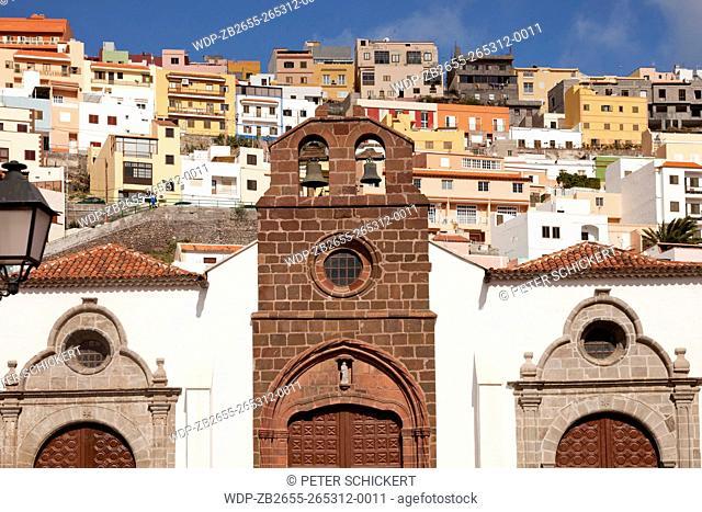 Kirche Mariä Himmelfahrt oder Nuestra Senora de Asuncion in der Inselhauptstadt San Sebastian de La Gomera, La Gomera, Kanarische Inseln, Spanien