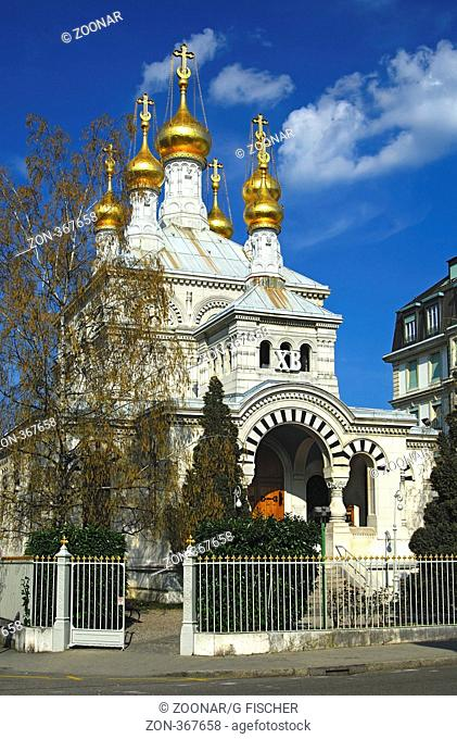 Russisch-Orthodoxe Kirche Genf, Schweiz / Russian Orthodox Church in Geneva, Switzerland