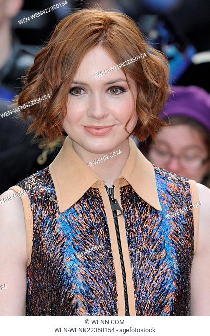 Jameson Empire Film Awards 2015 at the Grosvenor House Hotel, Park Lane, London Featuring: Karen Gillan Where: London, United Kingdom When: 29 Mar 2015 Credit:...