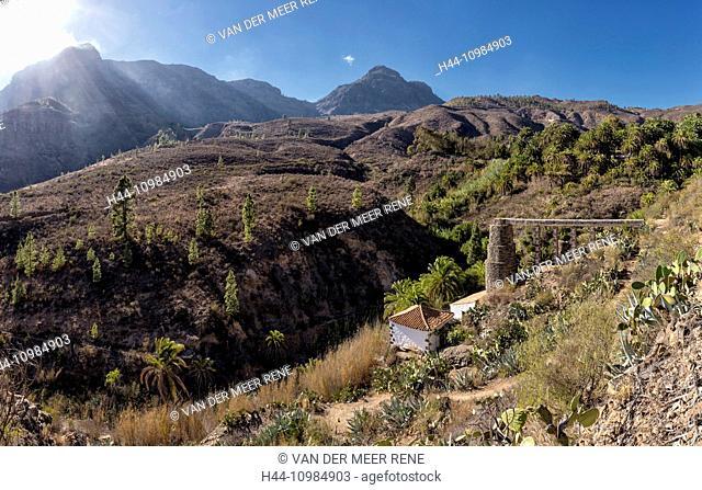 Fataga in Gran Canaria, Canary Islands