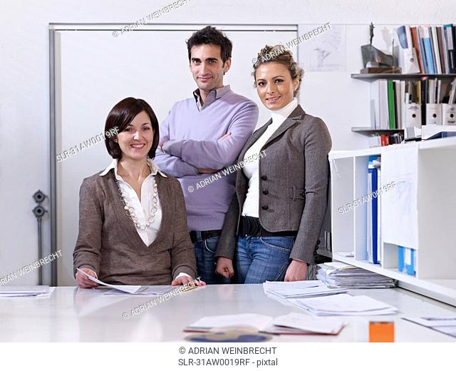 Colleagues in Office