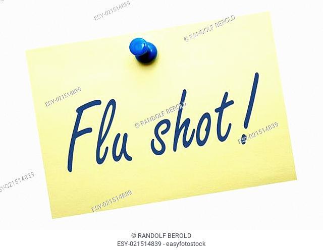 Flu shot !