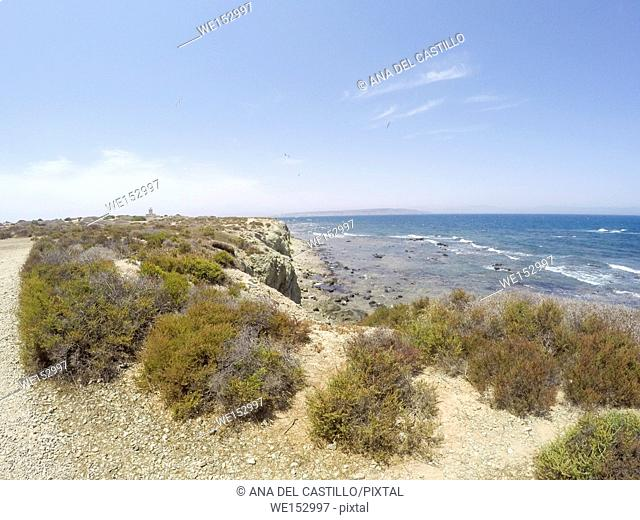 Tabarca island in Alicante province Spain