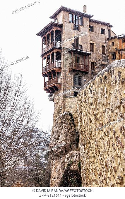 Hanging houses. Cuenca. Spain