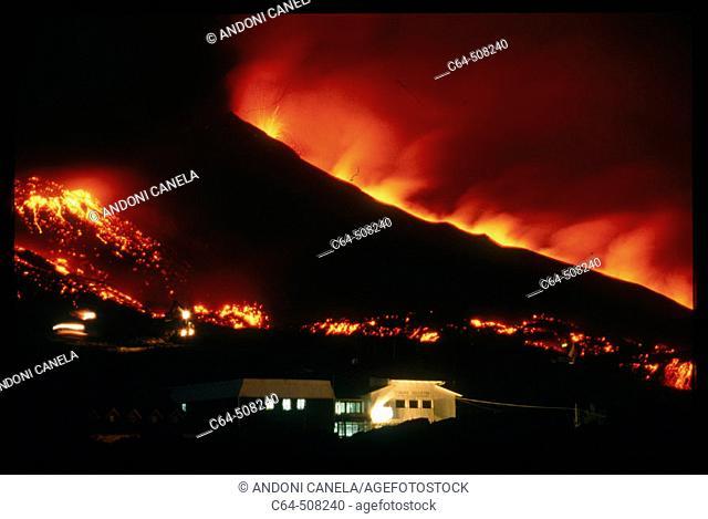 Etna volcano. Sicily. Italy