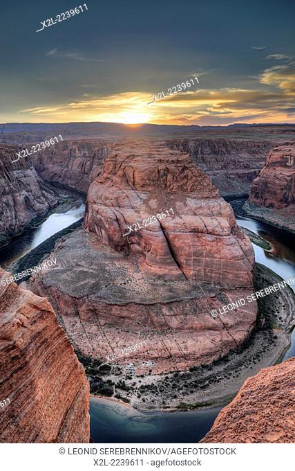Horseshoe Bend. Page, Arizona, USA