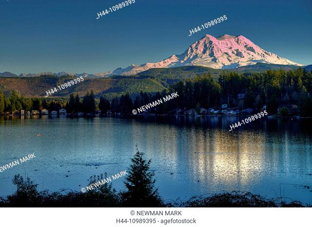 mount shasta and clear lake, California