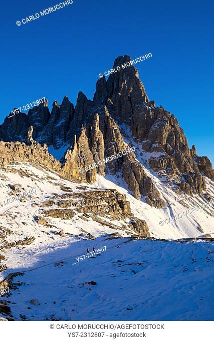 Monte Paterno, Auronzo, Belluno, Italy, Europe