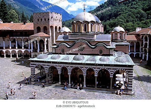 Nativity Church, Rila Monastery