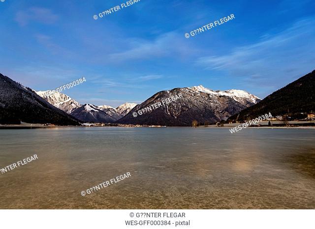 Austria, Tyrol, Eng, Achensee, view to Pertisau