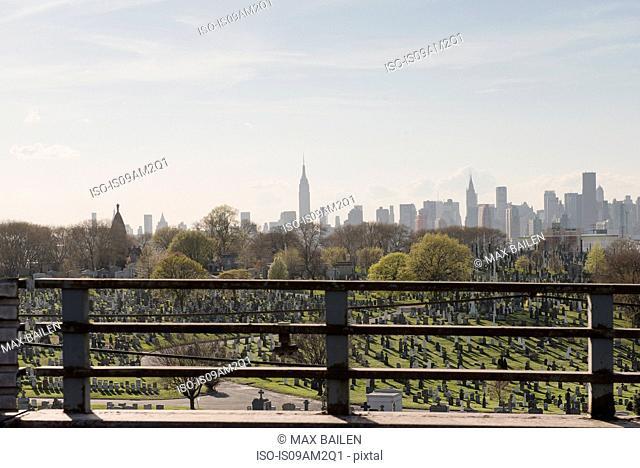 Cemetery, Brooklyn, New York, USA