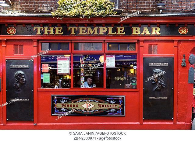 The Temple Bar, Dublin, Ireland, Europe
