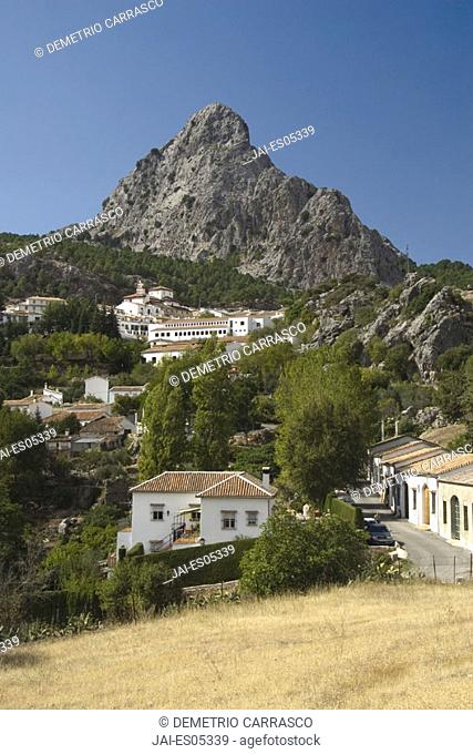 Grazalema Village & Sierra de Grazalema Natural Park, Cadiz Province, Andalucia, Spain