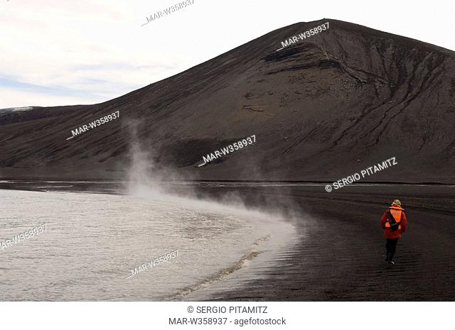 Antarctica, South Shetlands Islands, Deception Island, MR