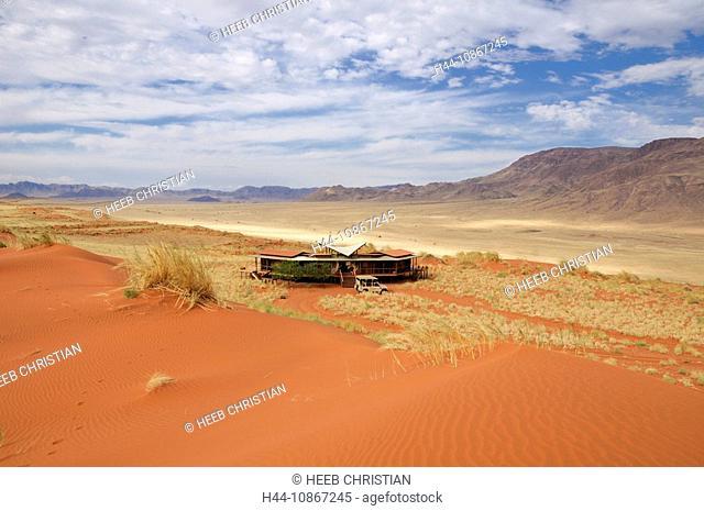Dunes Lodge, Wolwedans Lodge, Namib Rand Nature Reserve, Hardap Region, Namibia, Africa, Travel, Nature
