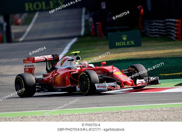 02.09.2016 - Free Practice 1, Kimi Raikkonen (FIN) Scuderia Ferrari SF16-H