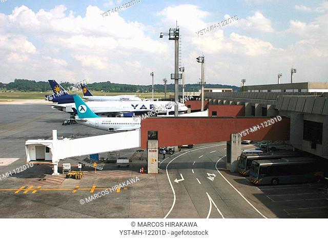 International airport of Guarulhos, São Paulo, Brazil