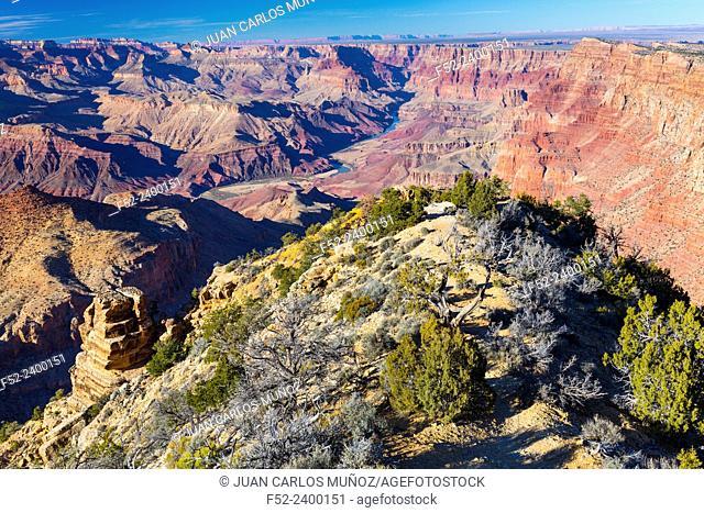 Grand Canyon National Park, Arizona, Usa, America