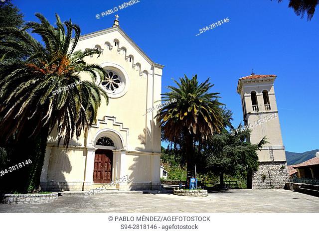 Church in Sant Jeronim square of Herceg Novi, Montenegro