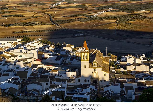 Village of Teba. Málaga province, Andalusia. Southern Spain Europe