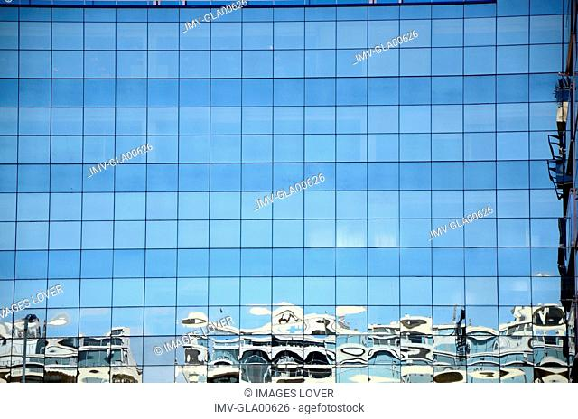 Reflection in Glass Building, Buenos Aires, Argentina