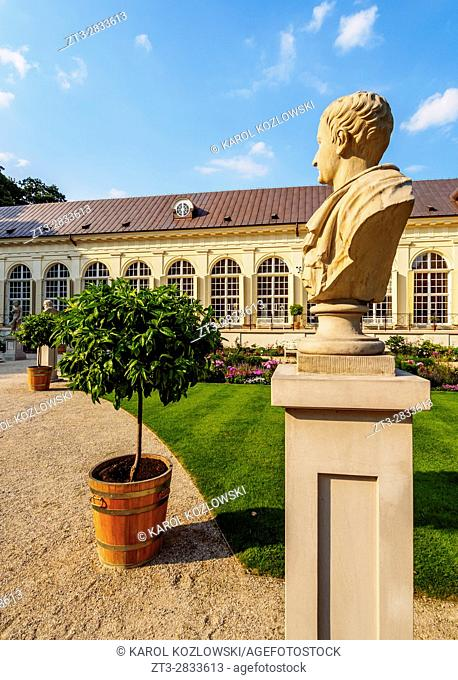 Poland, Masovian Voivodeship, Warsaw, Royal Baths Park, Old Orangery