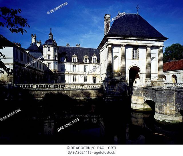 Tanlay castle. Burgundy, France, 16th-17th century