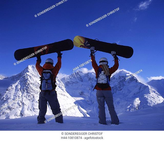 adventure, Alps, area, Piz Bernina, Engadin, glacier, Grisons, Graubunden, ice, Piz Morteratsch, mountains, Piz Rose