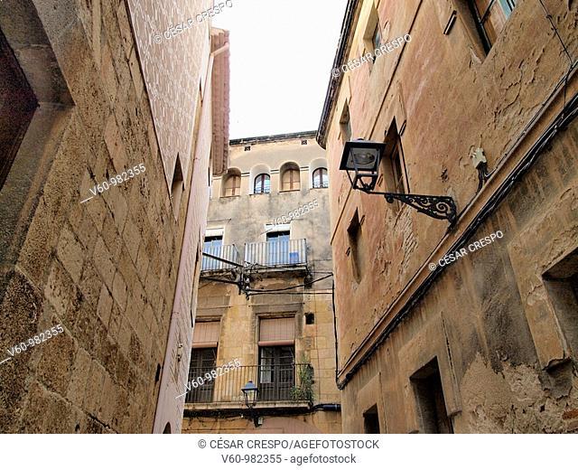 -Houses Sorrounding Cathedral of Tarraco- Tarragona(Spain)