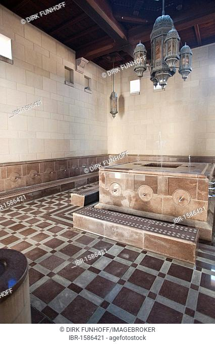 Washroom for men, Sultan Quaboos Grand Mosque, Capital Area, Oman, Middle East