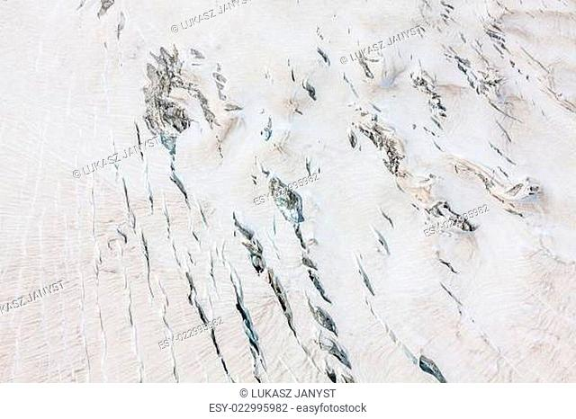 Mer de Glace (Sea of Ice) is a glacier located on the Mont Blanc massif, in the Alps France
