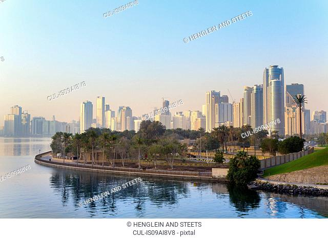 Sharjah Corniche, United Arab Emirates