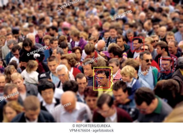 Facial recognition system;systeme de reconnaissance faciale; Reporters / EUREKA