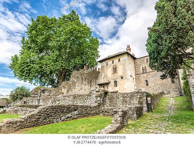 Castello Visconteo, Locarno, Ticino, Italy