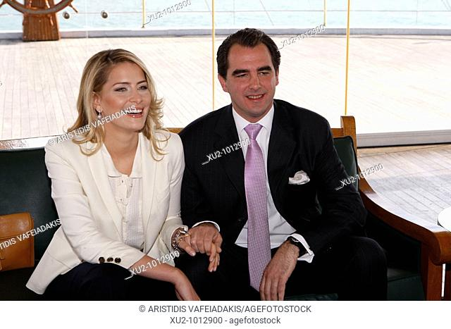 Prince Nikolaos of Greece and Tatiana Blatnik have annouched their engagement publicly to the world media  Nikolaos and Tatiana will married this summer in...
