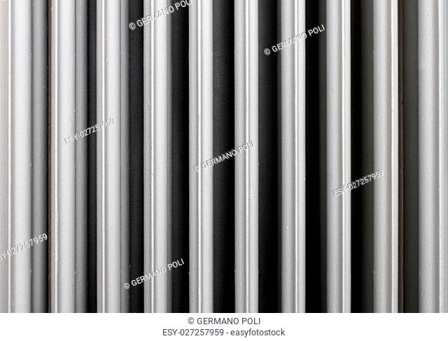 Background of an old cast iron radiator