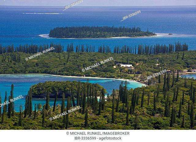 Overlooking the Ile des Pins, Île des Pins, New Caledonia, France