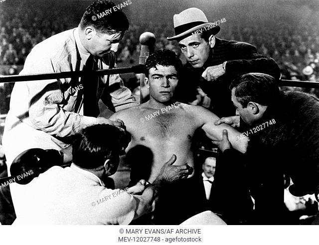 William Haade & Humphrey Bogart Characters: Chuck McGraw & Turkey Morgan Film: Kid Galahad (USA 1937) Director: Michael Curtiz 26 May 1937