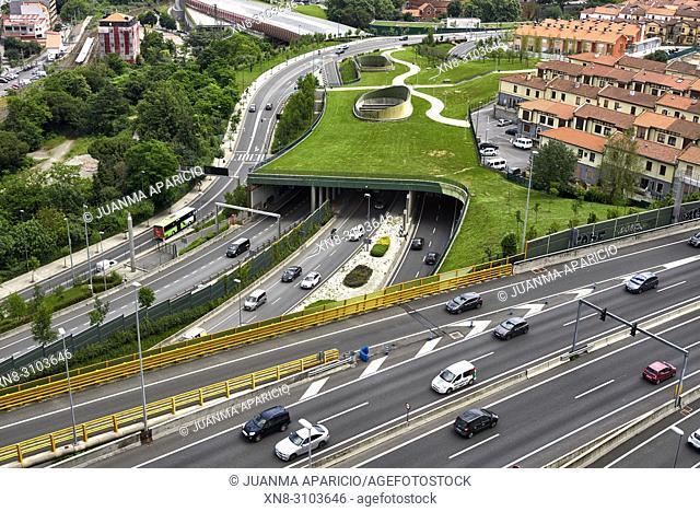 Santa Ana Neighborhood, Bilbao, Biscay, Basque Country, Euskadi, Euskal Herria, Spain