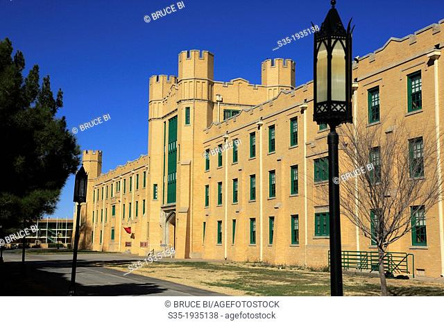 New Mexico Military Institute. Roswell. New Mexico. USA