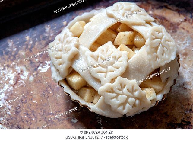 Mini Apple Pie, High Angle View
